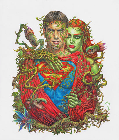 Poison Ivy And Superman photo 28