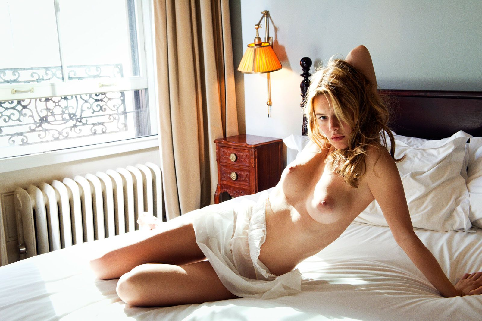 Camille Rowe Topless photo 1