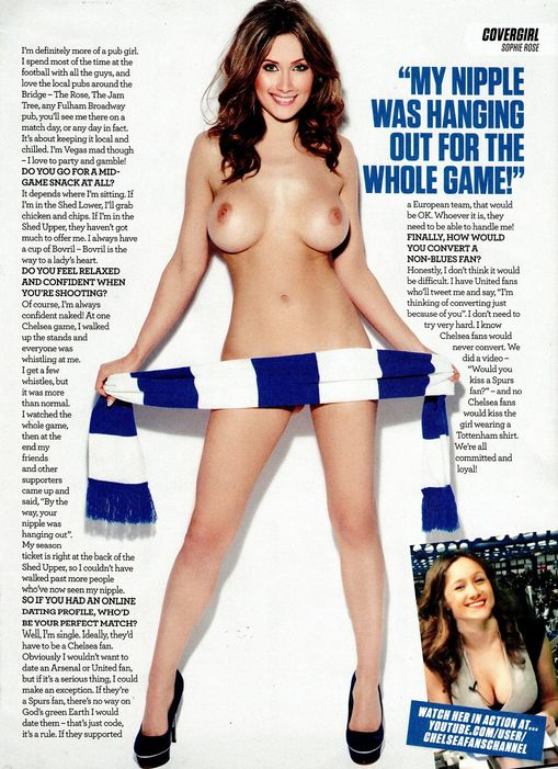 Sophie Rose Topless photo 18