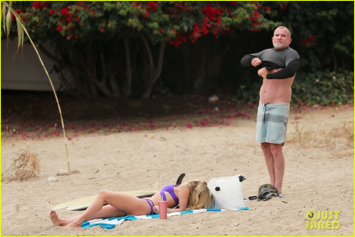 Annalynne Mccord And Dominic Purcell photo 9