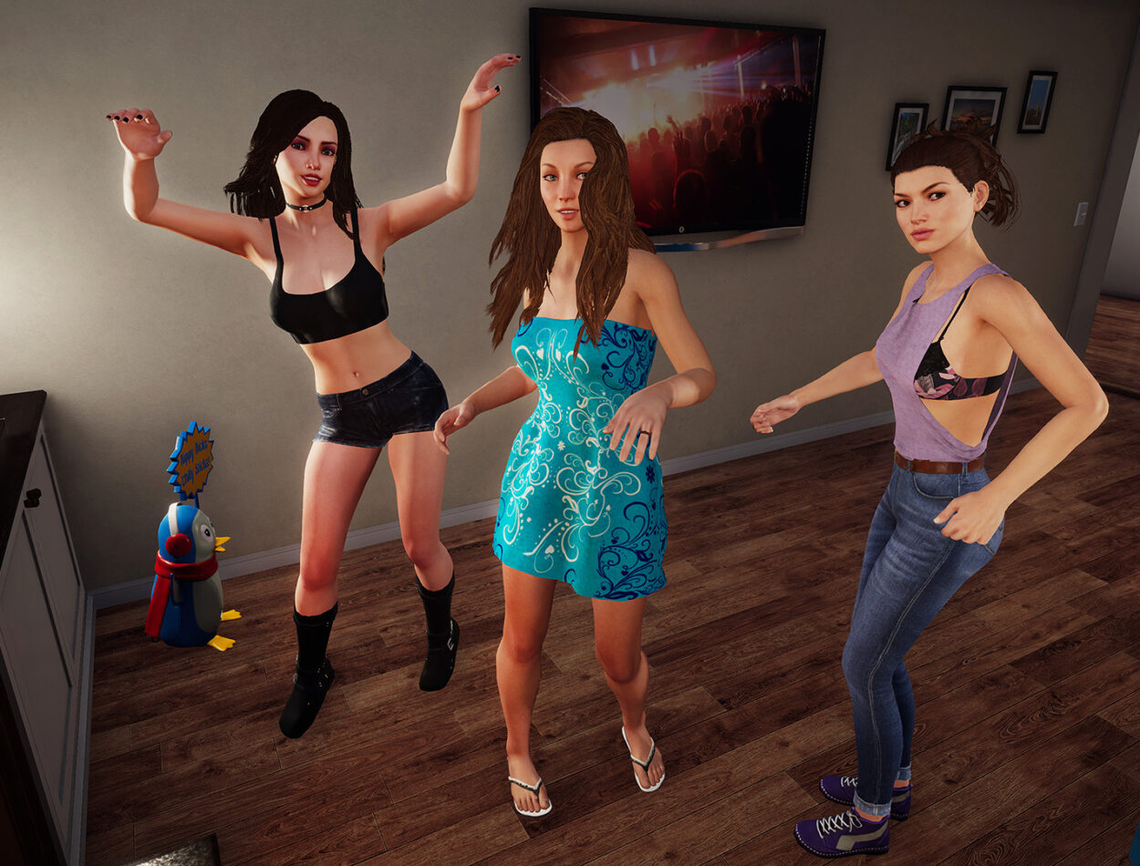 House Party Game Unconcerned Gameplay photo 25