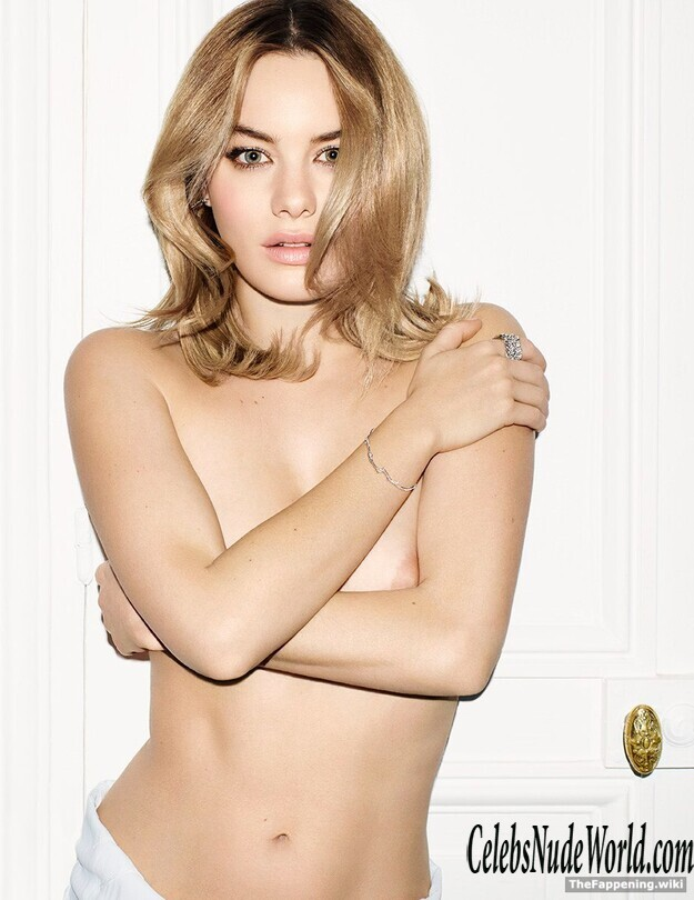 Camille Rowe Topless photo 12