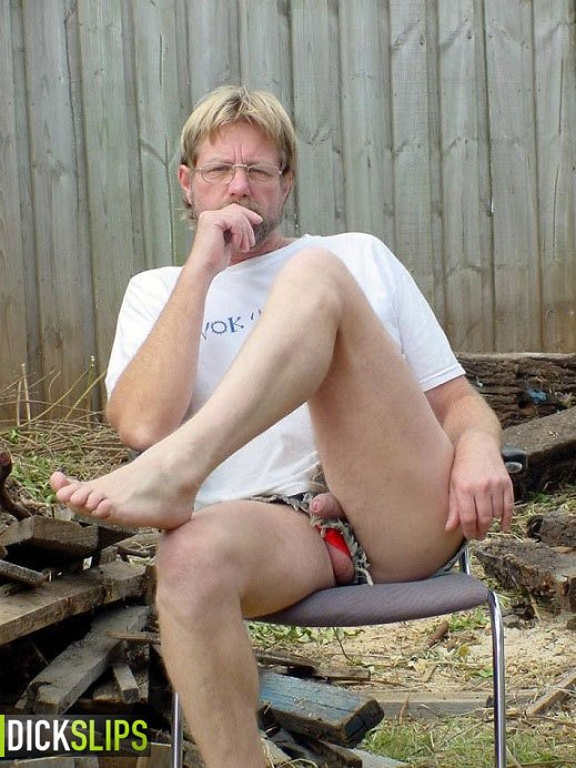 Dick Sticking Out Of Shorts photo 8