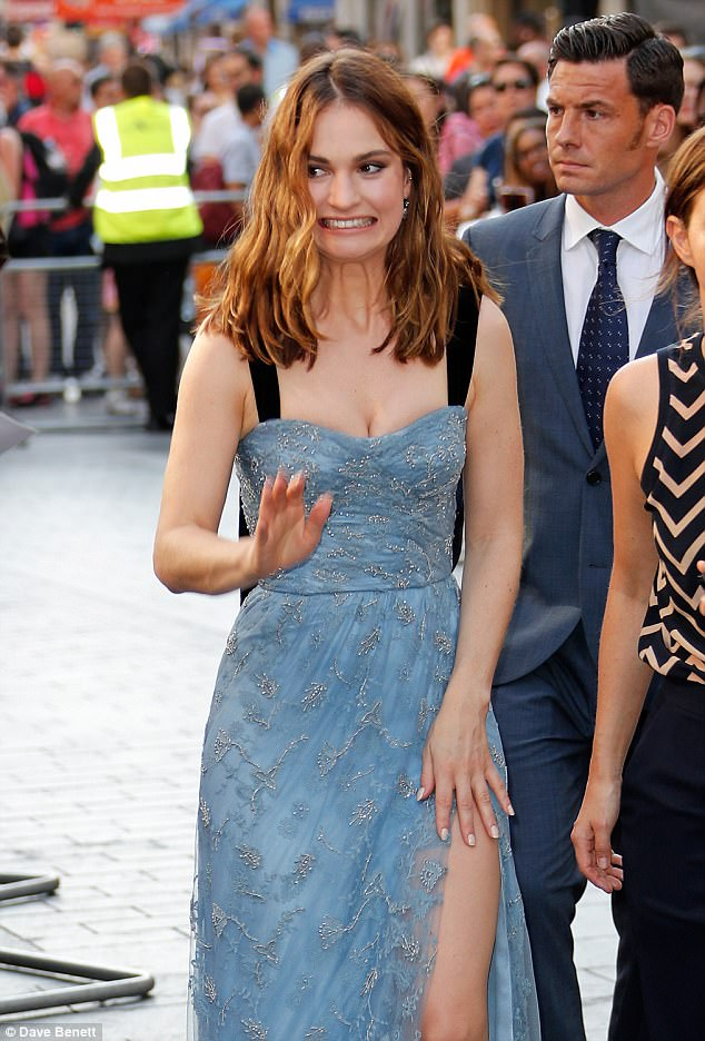 Lily James Butt photo 13