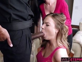 Mom Catches Daughter Sucking Cock photo 14